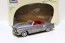 1:18 Revell Borgward Isabella Cabrio silver NEW bei PREMIUM-MODELCARS