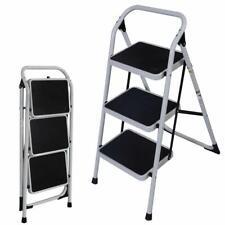 Multi Functional Non Slip 3 Level Step Stool Folding Ladder Safety Tread 330lbs