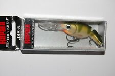 "Rapala Slab Rap 05 SLR05-GYP Glow Yellow Perch 2/"" 1//4 oz Ice Fishing Lure"