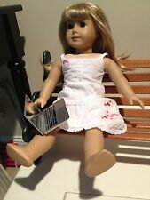 """Silver MacBook Air Laptop Computer for 18"""" American Girl Doll accessories"""