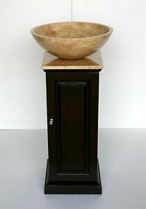 16-5-inch-Single-Bathroom-Stone-Vessel-Vanity-Pedestal-Sink-Stand-Basin-0156TR