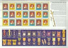 Installation of XI Yang Di-Pertuan Agong Malaysia 1999 Royal King (sheetlet) MNH