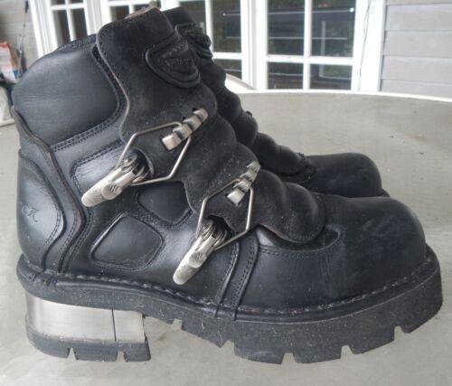 'New Rock' Biker Boots