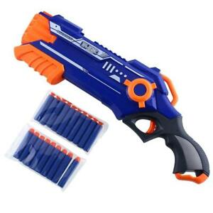 Nerf-Gun-Strike-Dart-N-Blaster-Refill-Gun-Kids-Bullet-Toy-Boy-Gift-with-20-Darts