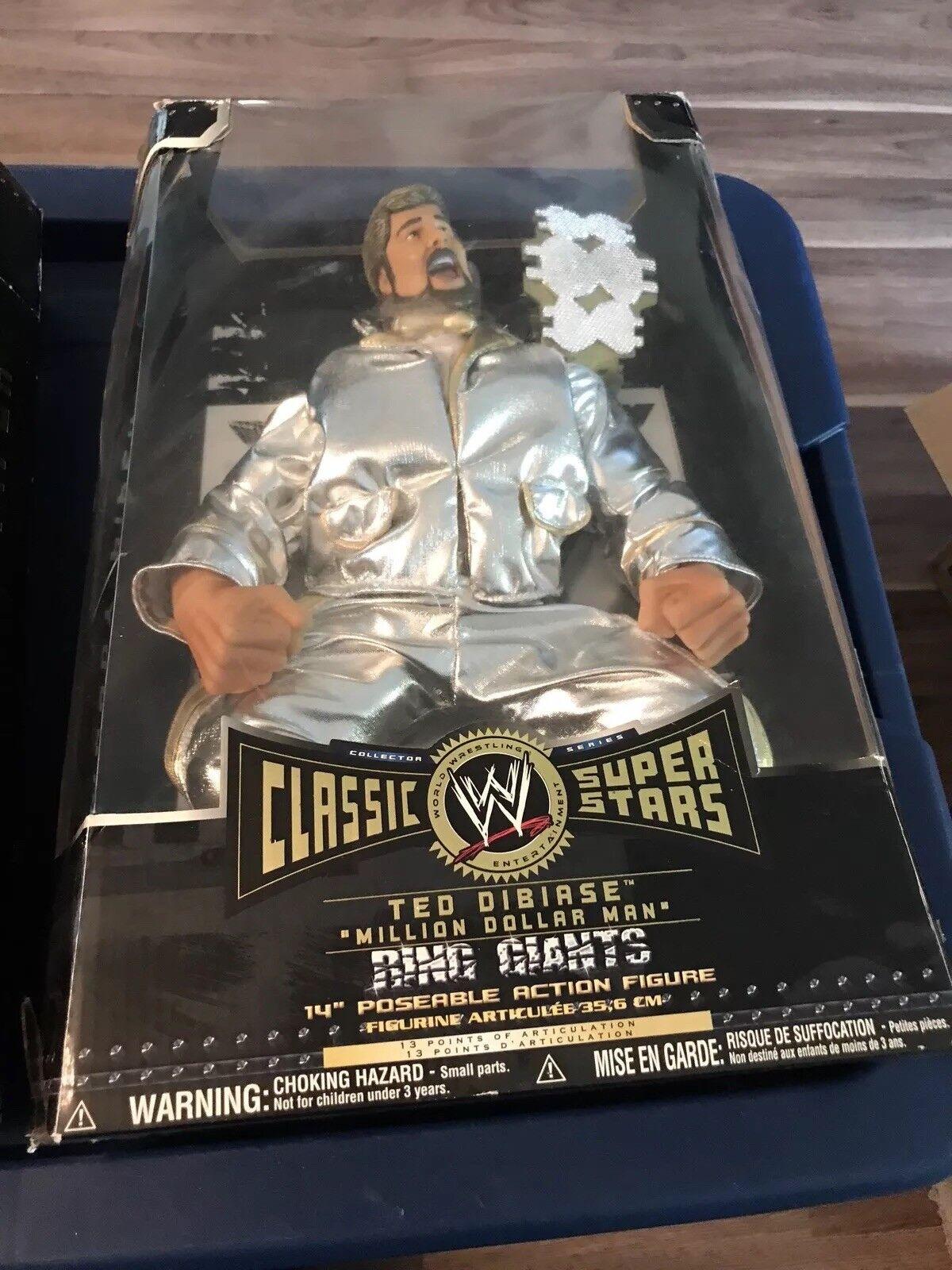 TED DIBIASE WWE RING GIANTS FIGURE NIB