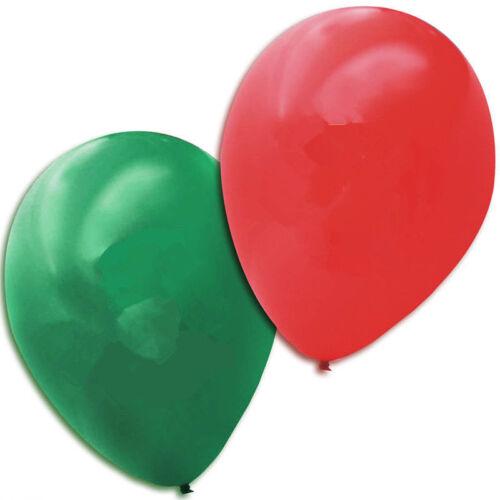 """environ 30.48 cm 100 Pièces Pack Joyeux Noël Latex Ballons 12 in Fast /& livraison gratuite 12/"""""""
