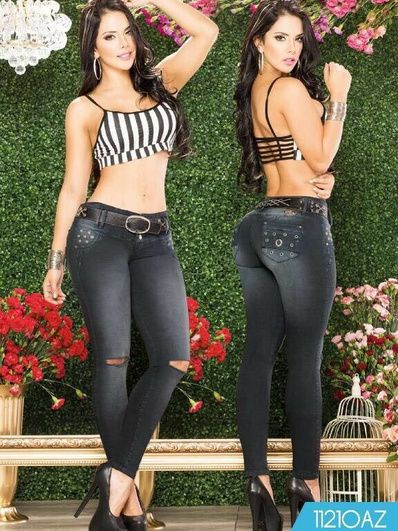 Colombian Butt Lift Imported Jeans-Sizes Available  11 12 USA