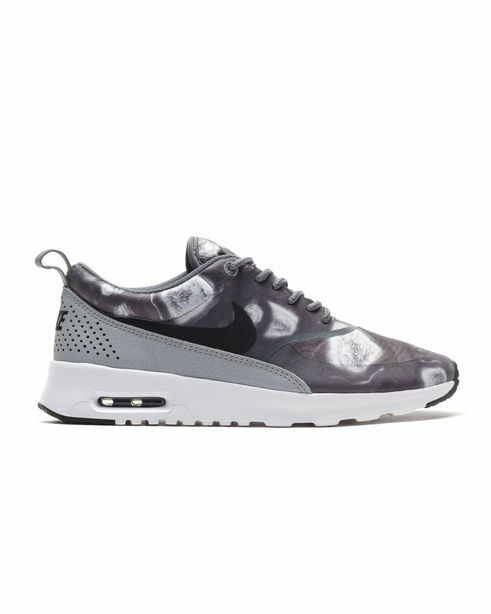599408-013 Women's Nike Air Max Thea Print shoes   BLACK BLACK WOLF GREY