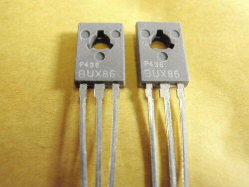 Transistor bux86 NPN 800v 0,5a 20w tc60 ° 2x 20030-170