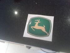 john deere stickers / decals 13cm X 11cm