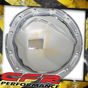 1964-72 Chevy//GM Chrome Steel Rear Differential Cover 12 Bolt w// 8.875 Ring Gear