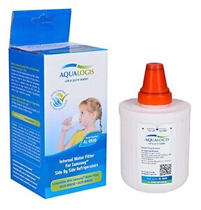 Frigoríficos Y Congeladores Electrodomésticos 2x Aqualogis Filtro Agua Nevera Compatible Con Samsung Da29-00003f Hafin1exp