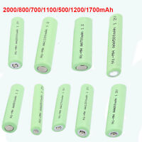 1.2v 4pcs Rechargeable Ni-mh Battery Aa/aaa For Multi Use High Capacity Powerful
