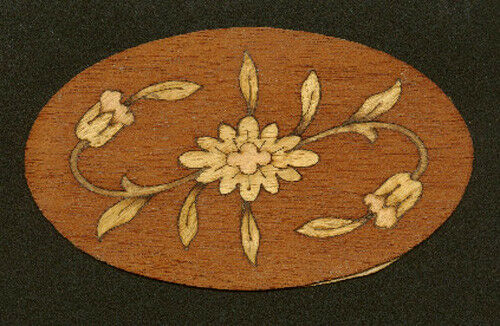 Wood Inlay Medallion For Fine Furniture Woodworking 2