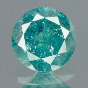 0-25-Carats-NATURAL-Vivid-Sea-BLUE-DIAMOND-LOOSE-for-Setting-Round-with-CERT