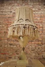60er Tischlampe Mid Century Lampe 60s Table Lamp 70er Vintage Kunststein