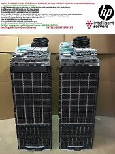 2x HP EVA4400 C7000 G2 32x BL460c G7 384Cores 4TB RAM 76TB 4Gbit FC SAN Solution