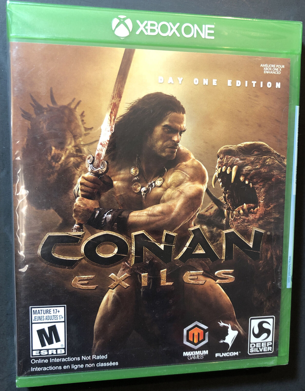 Conan Exiles [ Day One Edition ] (XBOX One) NEW