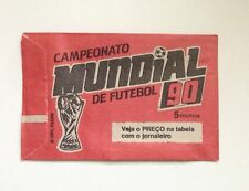 Panini 1990 Italia World Cup Campeonato Mundial Futebol BRAZILIAN Sticker Packet