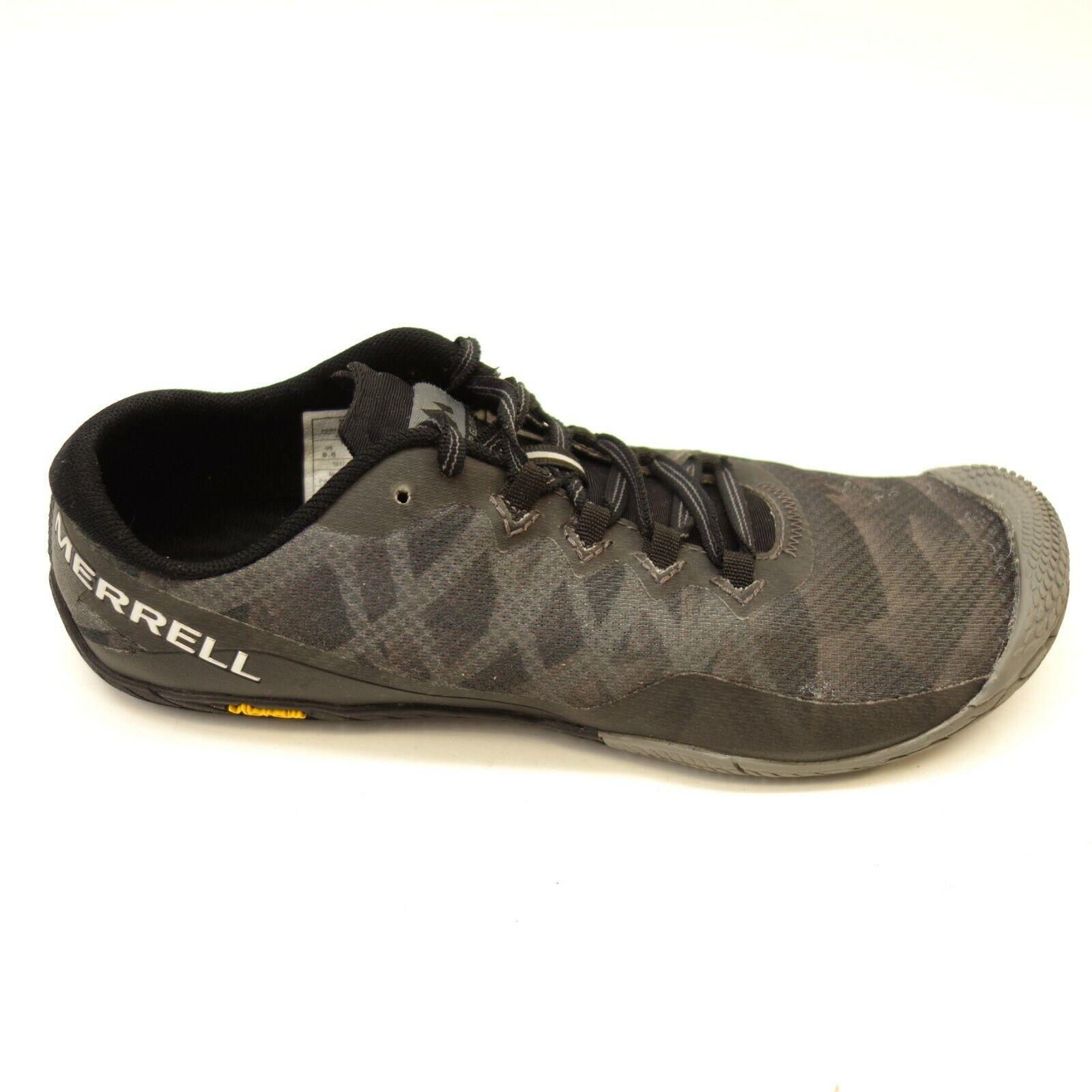 Merrell Mujer Vapor Guante 3 gris Transpirable Vibram Zapatos Atléticos Talla 8.5