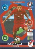 PANINI EURO 2016 ADRENALYN XL CARD- #422-TURKIYE-TURKEY--BURAK YILMAZ
