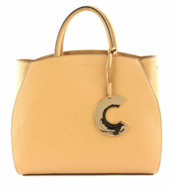Borsa Donna Coccinelle Media Hand Bag con Tracolla Concrete Caramel E1ela1 219