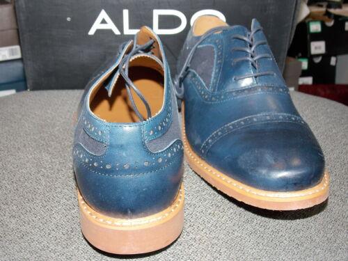 54/% OFF NEW ALDO Gramajo Oxford Navy Retail $120