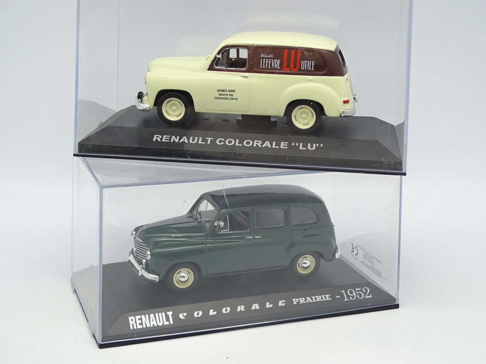 Prensa Ixo 1 43 - Lote Lote Lote de 2 Renault Colorado 9f8636