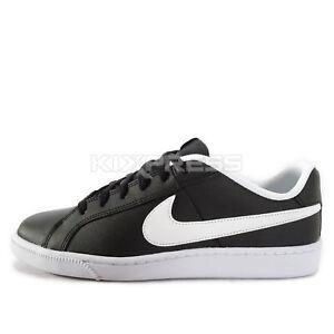 6a469acb9 Nike Court Royale [749747-010] Men Casual Shoes Black/White | eBay