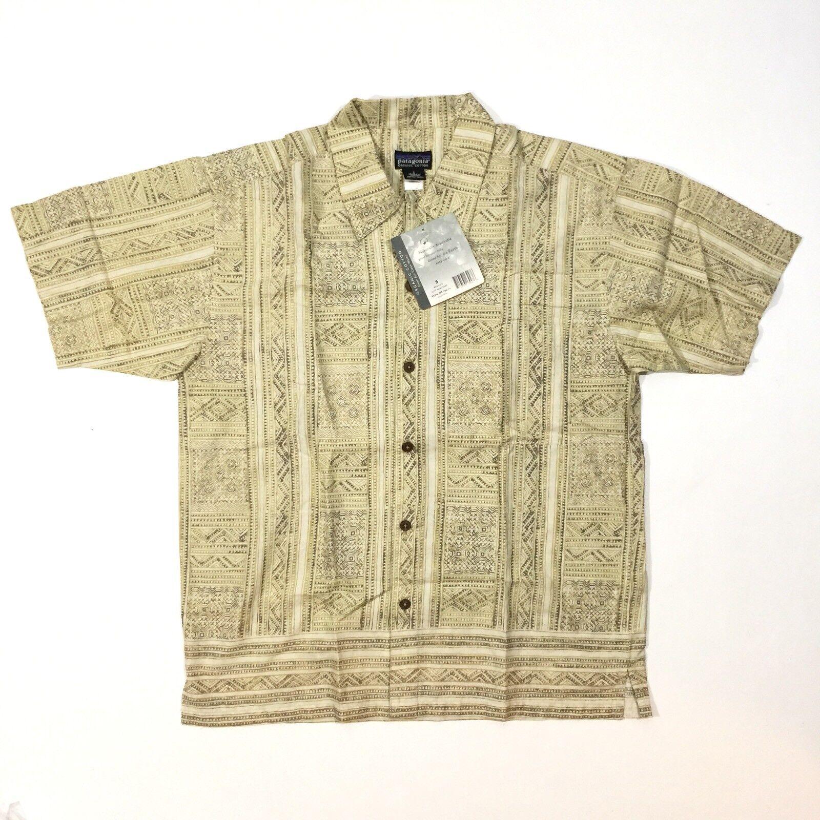 Patagonia Organic Cotton Button Down Shirt Size Small BNWT New  B5