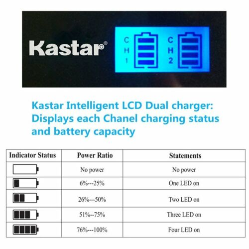 LPE17 LCD Dual Charger for Canon EOS M5 M6 77D 800D Rebel SL2 T6s T7i KISS X9i