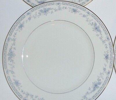 Dinner Plate Blue Floral w//Platinum Minton Bellemeade s