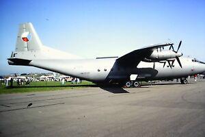 2-278-2-Antonov-AN-12-Norweigan-Air-Force-Kodachrome-SLIDE