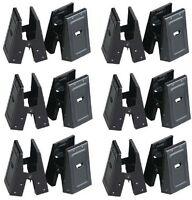 (6) Pair Fulton 300shb Medium Duty Steel Sawhorse Brackets