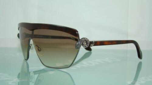 Roberto CAVALLI mirihi 749s 08B Rutenio Havana occhiali da sole Brown Gradient 130mm