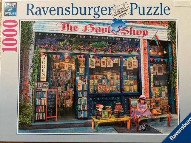 Ravensburger The Bookshop Puzzle 1000 Piece 197224 One owner.