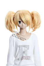 W-120 VOCALOID RIN Cosplay Perücke Wig blonde blond hitzefest manga anime