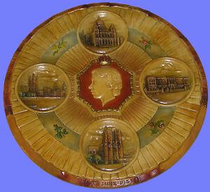 Bossons-Queen-Elizabeth-Cornation-Plate-Mint-Rare