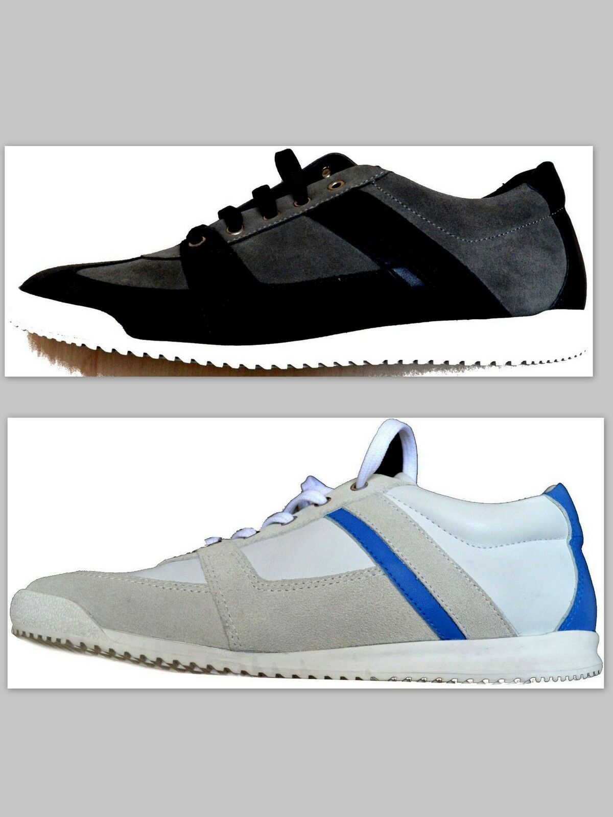 Scarpe Uomo Uomo Gianfranco Ferrè GF Shoes Scarpe da Ginnastica Nwt box and sand bag 100% Lea