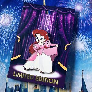 RARE LE Disney Pin✿ Ariel Little Mermaid Princess Taste of Royalty Dessert Acme