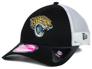 21eea3c1e Image is loading Jacksonville-Jaguars-NFL-New-Era-9Forty-WOMENS-Trucker-