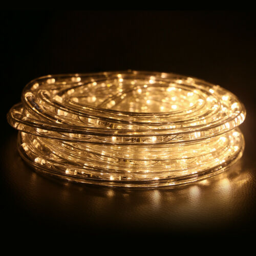 20ft LED Rope Light String Lights for Holiday Xmas Home Decor Outdoor Waterproof