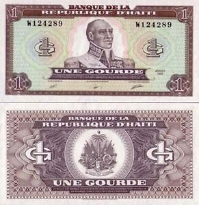 Haiti-billete-nuevo-de-1-calabaza-pick-253-UNC