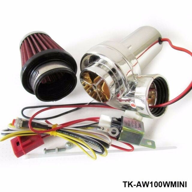 Supercharger Turbine Turbo Saver Fan Charger Air Filter