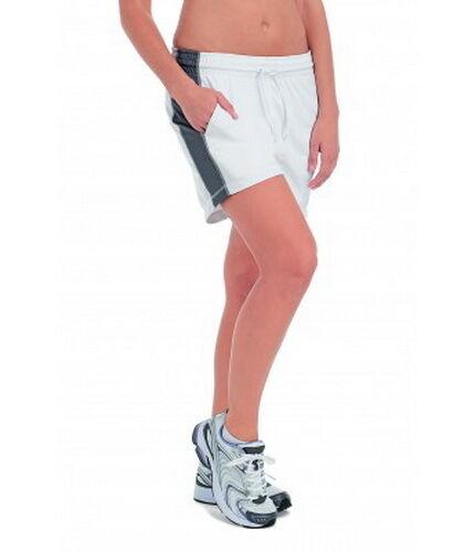 Womens sports shorts light Hanes 8800 stylish designer pocked tagless gym run