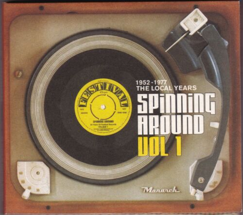 Spinning Around Vol 1 50 Years Of Festival Records The Local Years CD