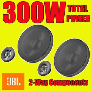 JBL-300W-TOTAL-2WAY-6-5-INCH-16-5cm-CAR-DOOR-2WAY-COMPONENT-SPEAKERS-TWEETERS