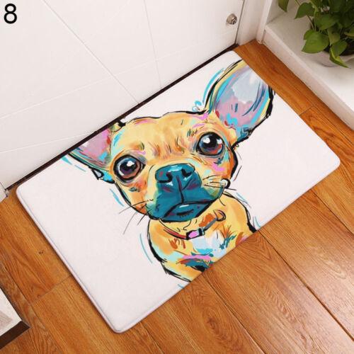 RA/_ EP/_ 40x60//50x80cm Dog Welcome Floor Indoor Outdoor Non-Slip Mat Rug Gift S