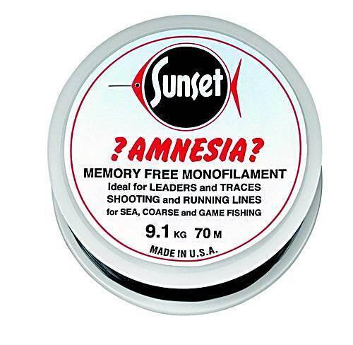 Bénéficiez Amnesia Zero-TWIST 100 m//15 livres aide au//6,8 kg Clair