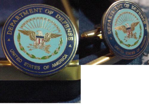 New pair U S Department of Defense CUFFLINKS  DOD